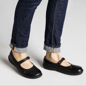 New Birkenstock Iona Leather Mary Jane Flats